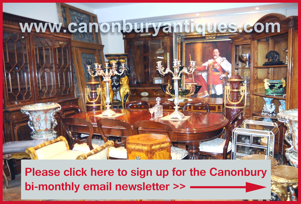 canonbury antiques hertfordshire showroom email sign up