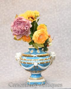 German Porcelain Bowl - Meissen Urn Tureen