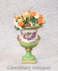 German Meissen Porcelain Campana Urn Vase Planter