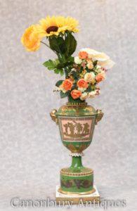 Meissen Porcelain Vase - German China Urn